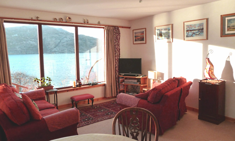 holiday cottage ullapool scottish highlands